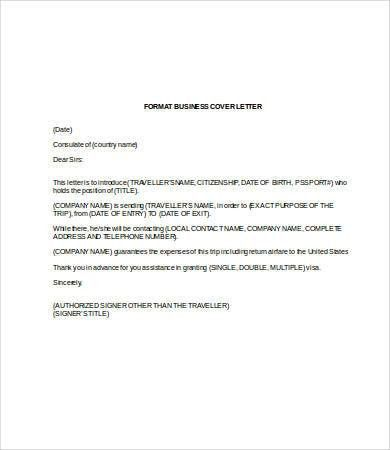 Business Letter Template Word - 7+ Free Word Documents Download ...