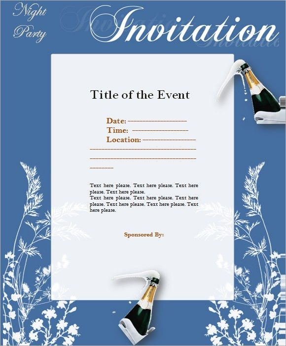 9+ Event Invitations - PSD, Vector EPS, PDF
