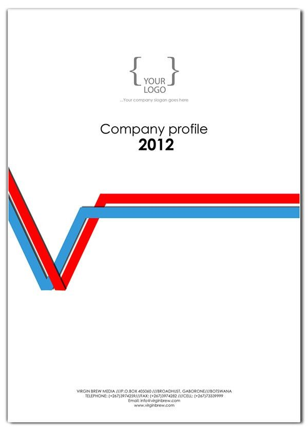COMPANY PROFILE cover design templates on Behance | wall ...