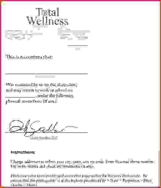 9 Fake Doctors Note Template FreeAgenda Template Sample | Agenda ...