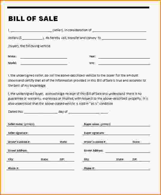 As Is Bill Of Sale Template.Bill Of Sale Template Word.jpg - Loan ...