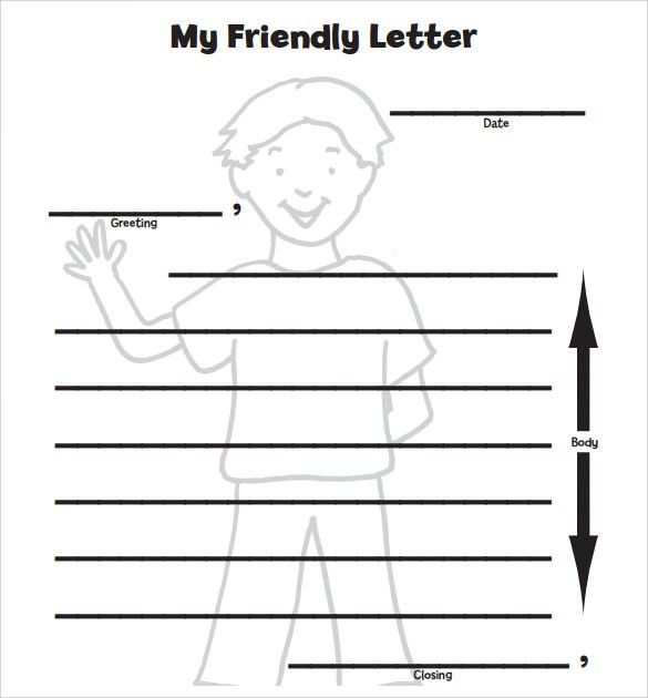 Sample Letter Format for Kids - 7+ Free Samples , Examples , Format