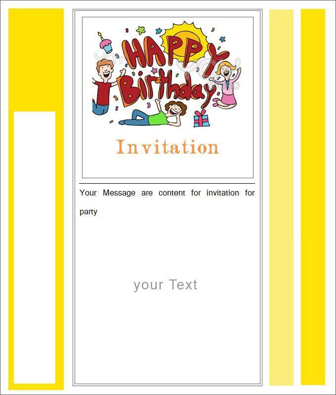 10 Best Blank Invitation Templates | Free & Premium Templates