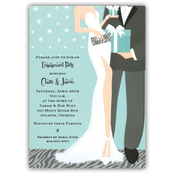 Engagement Party Invitation Wording - marialonghi.Com
