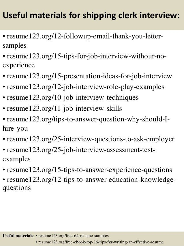 Glamorous Shipping Clerk Resume 11 Professional Walgreens Service ...
