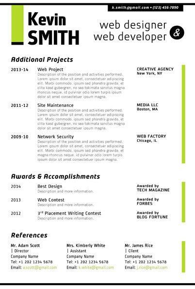 Download Web Design Resume | haadyaooverbayresort.com