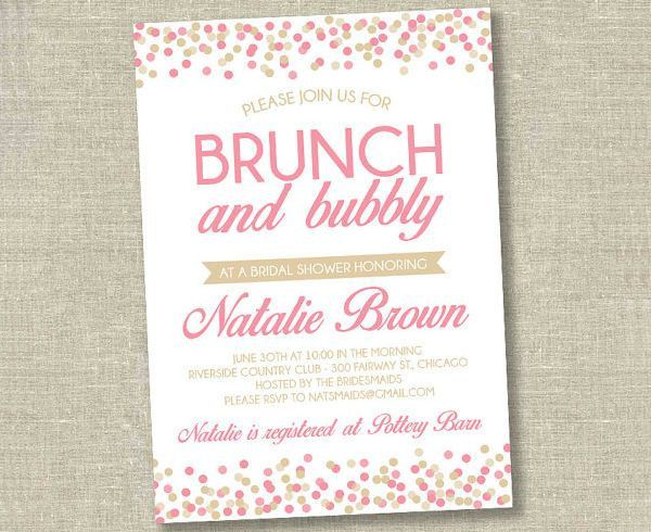 40+ Bridal Shower Invitation Examples