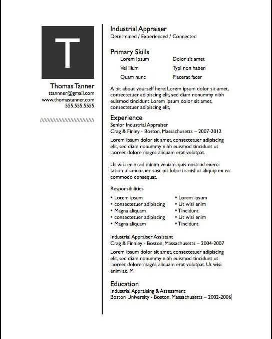 Resume Template For Pages 19 Modern Resume Template - uxhandy.com