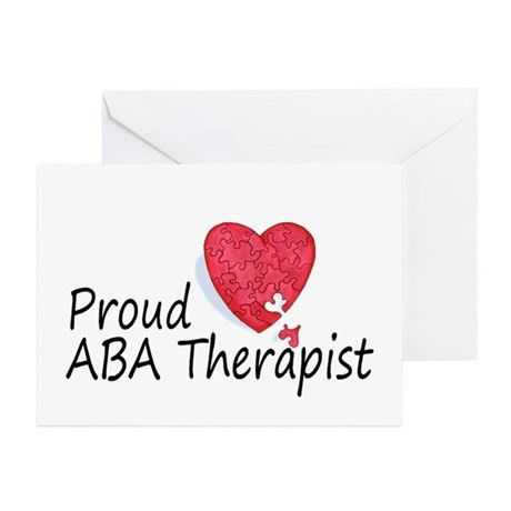 Aba Therapist Greeting Cards, Thank You Cards, and Custom Cards ...