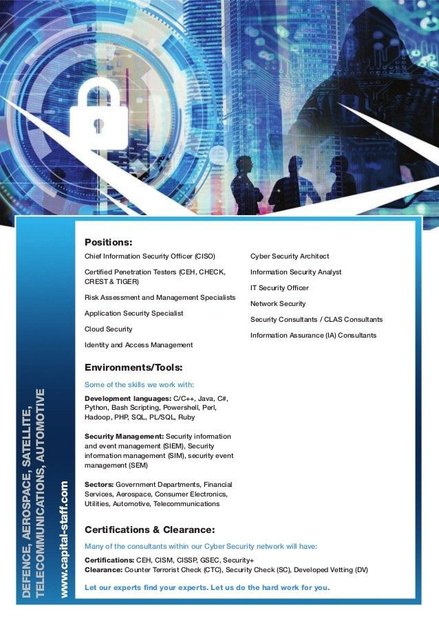 Capital Cyber Security Leaflet