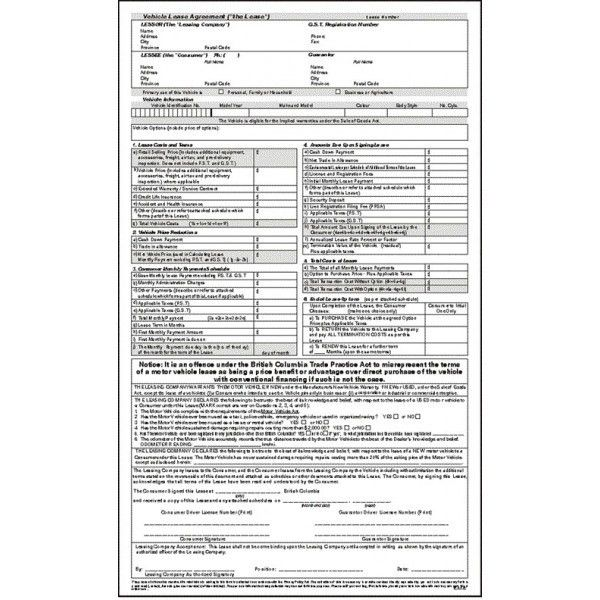 Lease Agreement (part 1) - Michael Mason & Co. Ltd.