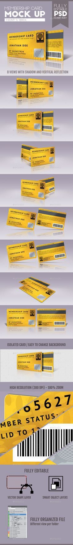 MMBC // Membership Card | Vip card, Business cards and Visit cards