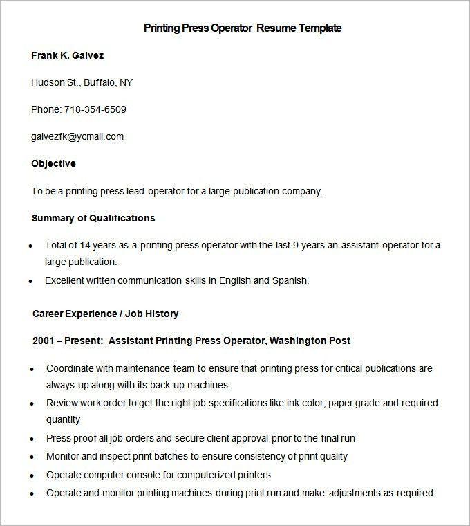 Lofty Design Resume Printing 6 Professional Screen Printing ...