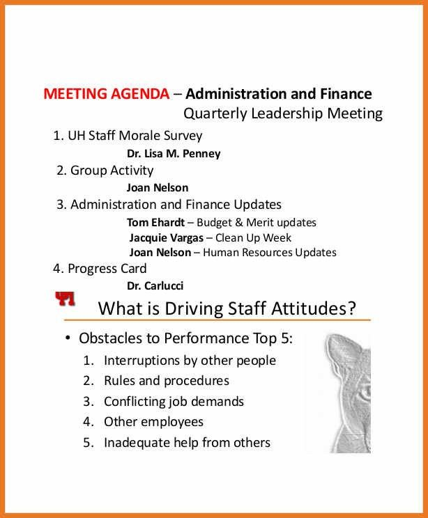 staff meeting agenda template | art resume skills