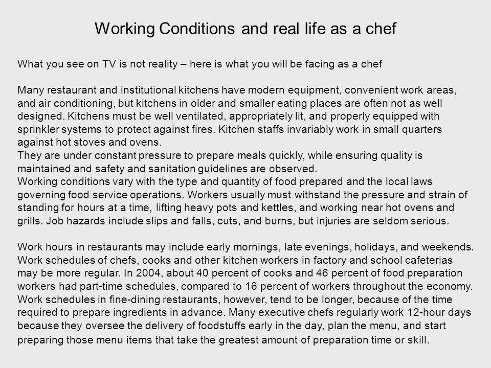 The Professional Chef What you can become What it means to be a ...