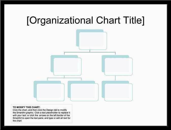 blank organizational chart samplesReference Letters Words ...