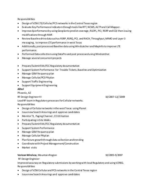 Resume RF Engineer Baseline 02162015