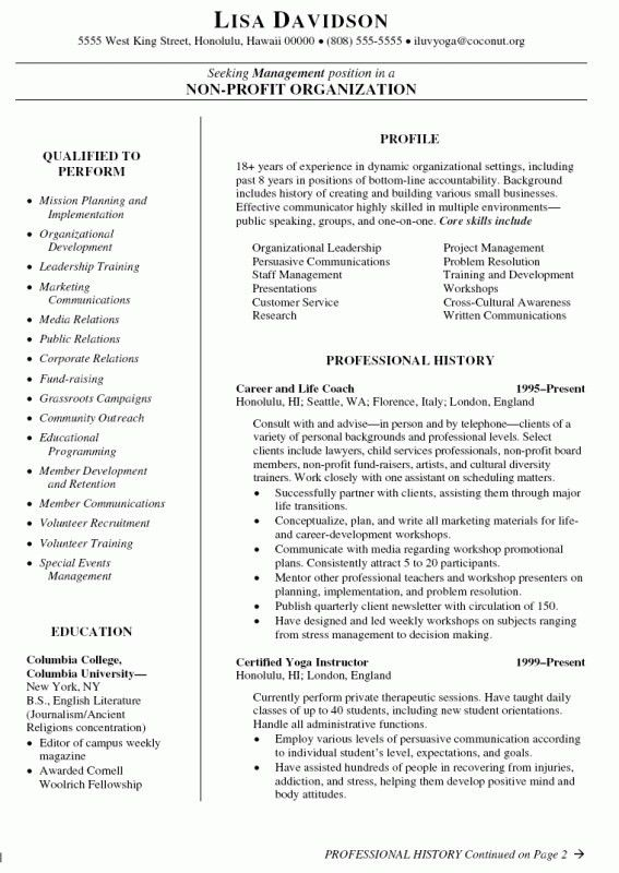 Contemporary Jeff The Career Coach Sample Resume Ideas - Example
