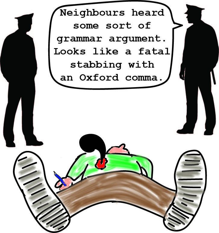 F**k the Oxford Comma | Avan Judd Stallard