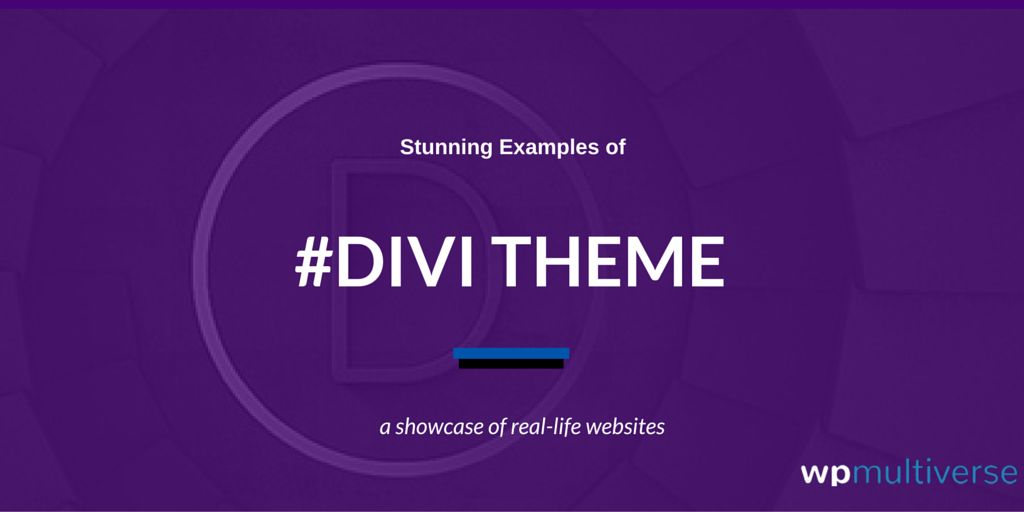 81+ Examples of Divi WordPress Theme in Action by Elegant Themes