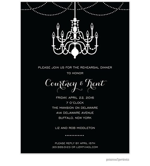 Dinner Party Invitation Template - Blueklip.Com