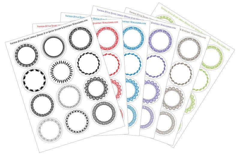 Free printable labels & templates, label design @WorldLabel blog ...