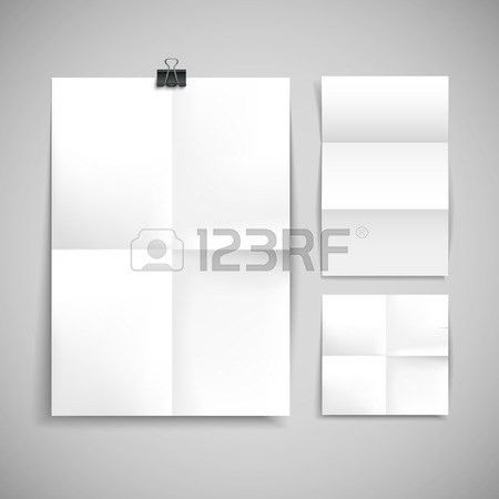 Blank Brochure Template. Blank Brochure Template Free Vector Blank .