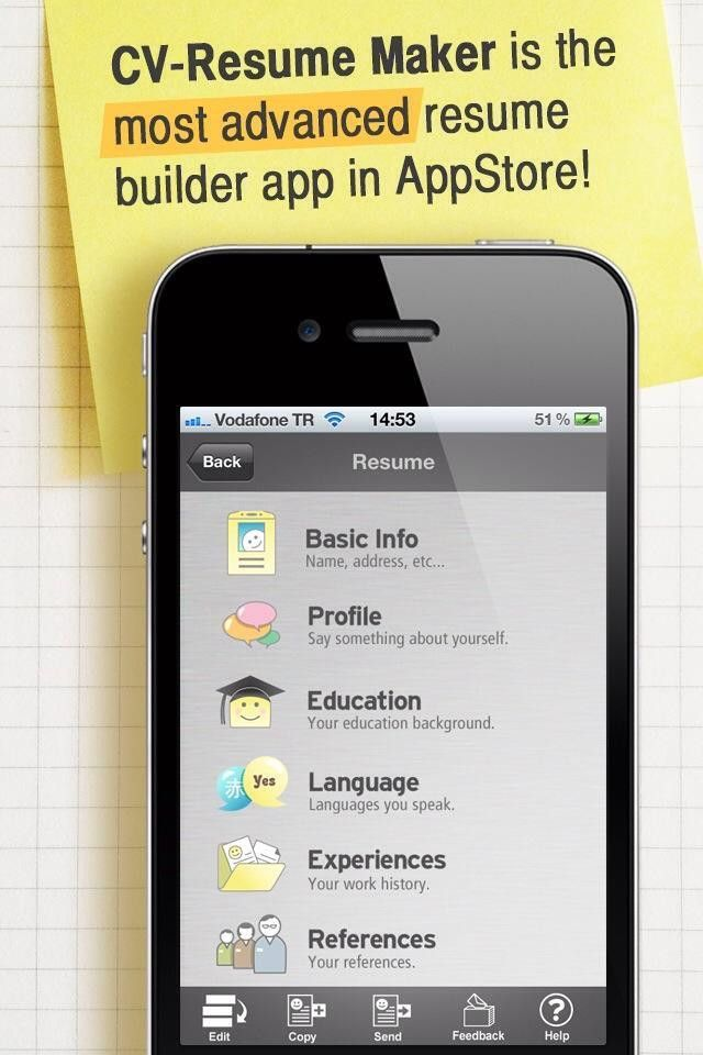How to Make Resume/CV With Your iPhone or iPad on the Go - Snapguide