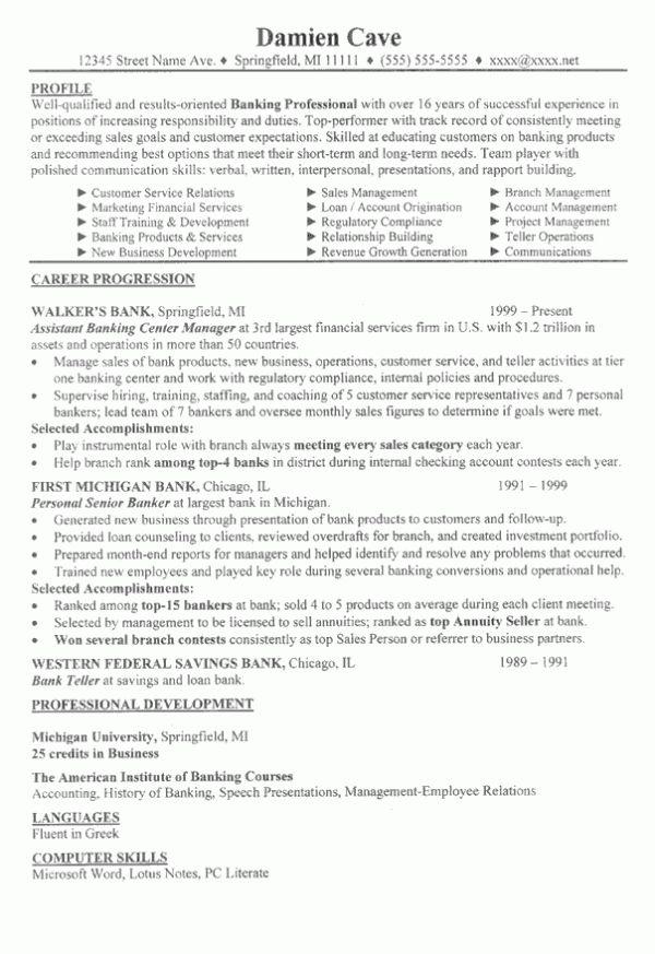 Profile On A Resume | Resume Badak