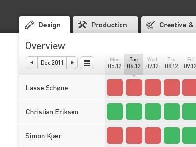 Timesheet System Design | Design and Screens