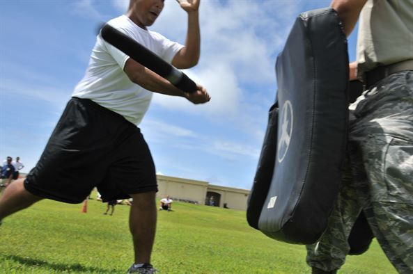DoD Officers spice up their training > Pacific Air Forces ...