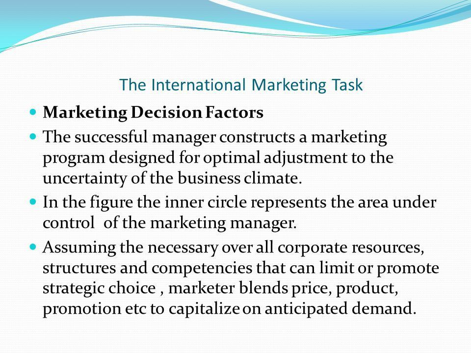 Introduction to International Marketing Benefits of International ...
