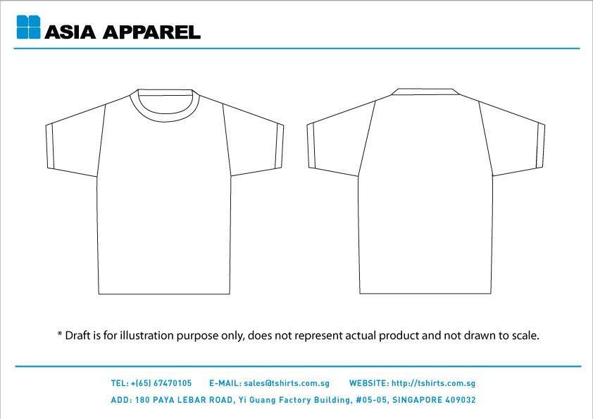 T Shirt Print Template - Contegri.com