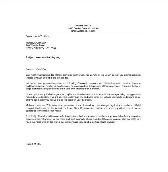 10+ Funny Complaint Letter Templates – Free Sample, Example ...