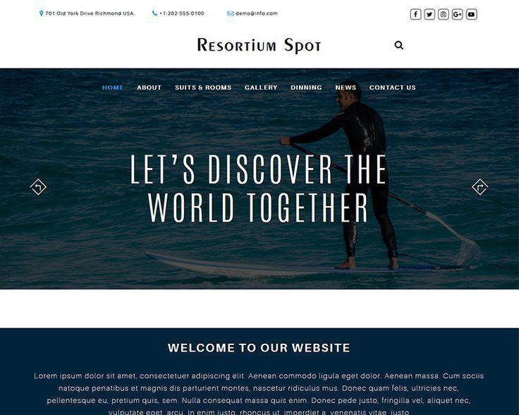 20 best Free Website Templates images on Pinterest | Free website ...