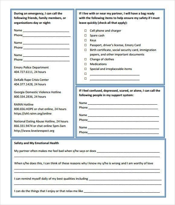 Site Specific Safety Plan Template | Template Design