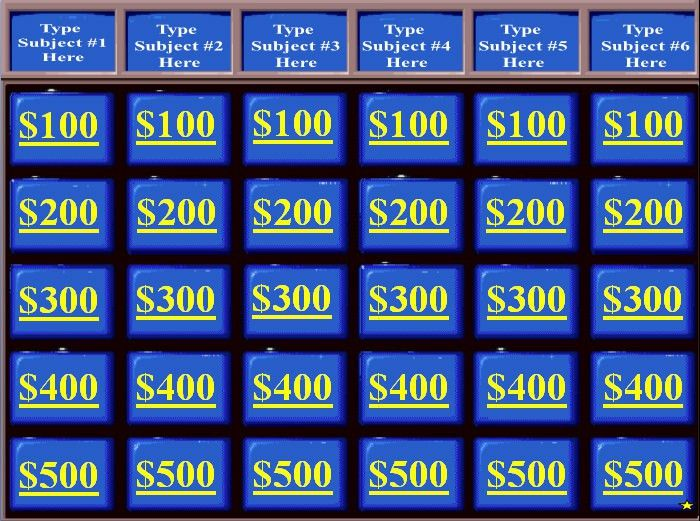 Family Feud Power Point Template. Instant Download ◅ Customizable ...