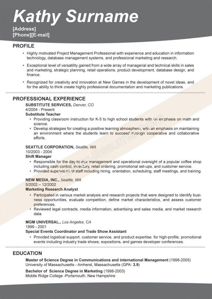 Exclusive Effective Resume 12 Photo How To Write An Effective ...