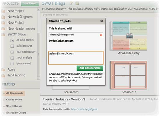 Create and Collaborate on SWOT Analysis Online | Creately