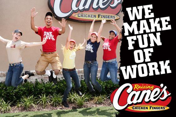 Raising Cane's Sugar Land Crewmember - Fry Cook/Cashier Job ...