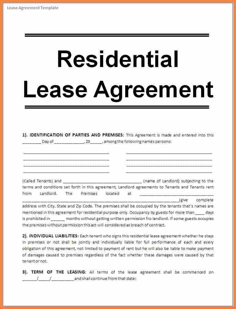6+ sample house rental agreement word format | Purchase Agreement ...