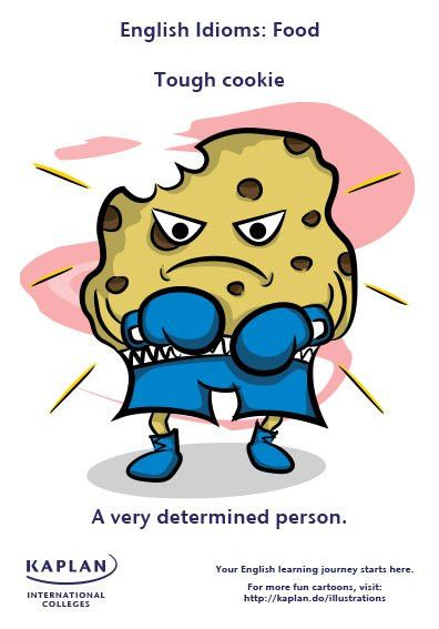 EwR.Grammar - #English Idiom: to be a tough cookie | English with ...