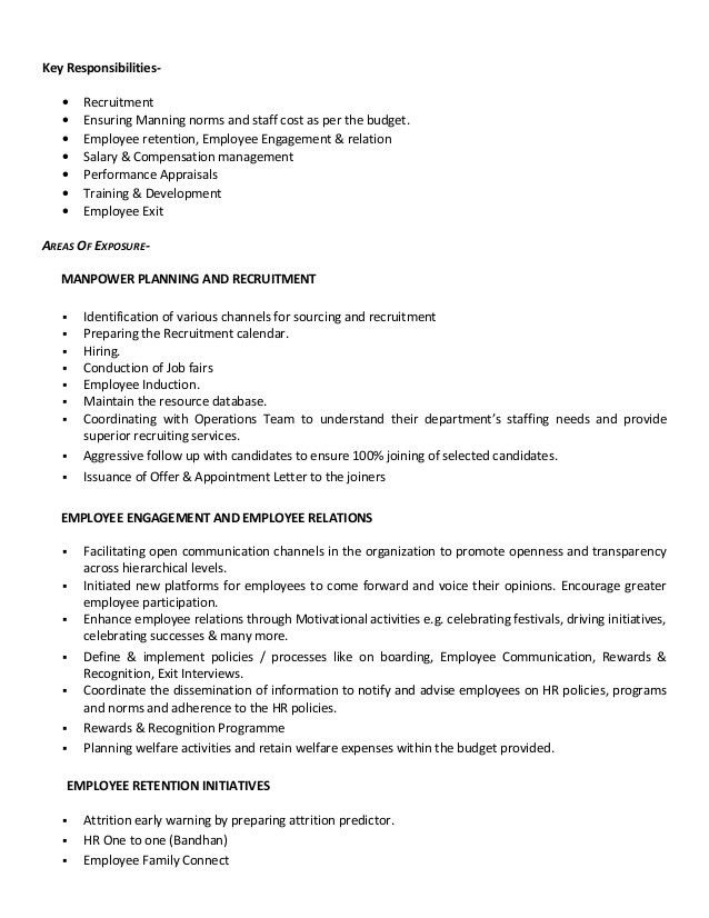 sample hr generalist resume auto insurance adjuster cover letter ...