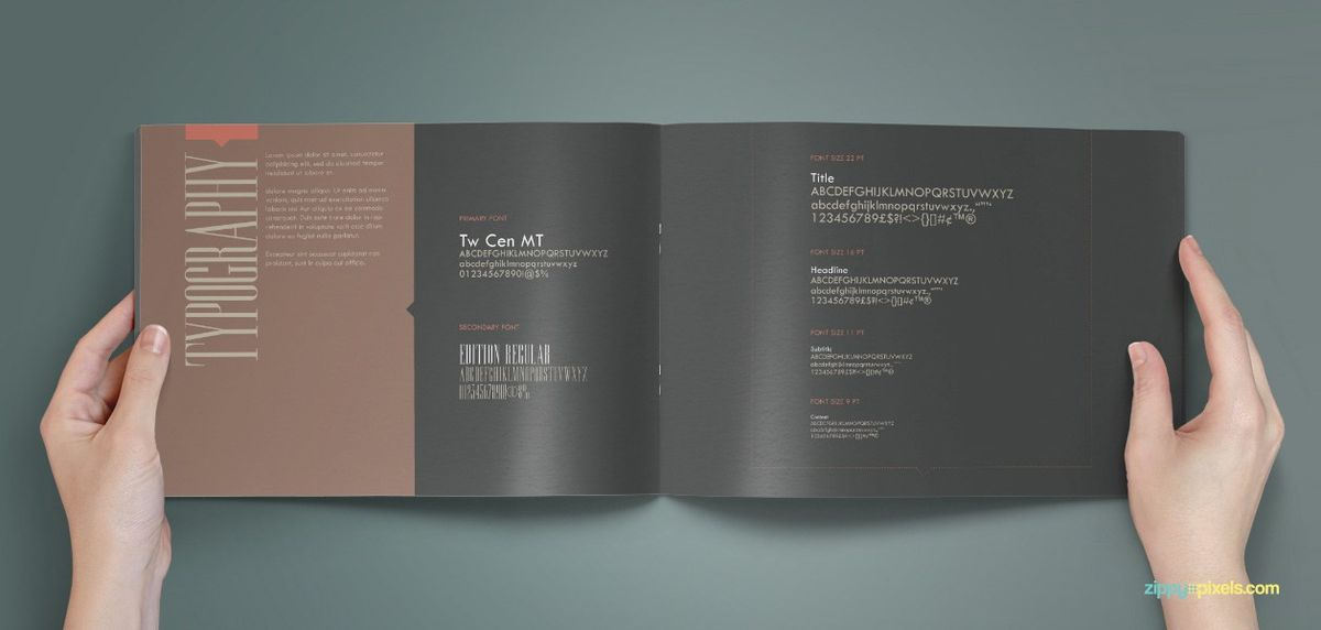 Typography Guidelines - Brand Identity Guidelines - Royal ...