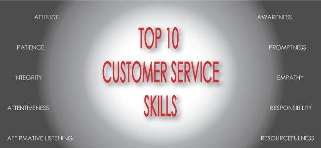 PRINTOUT: Top 10 Customer Service Skills – Keep a Copy at Your ...