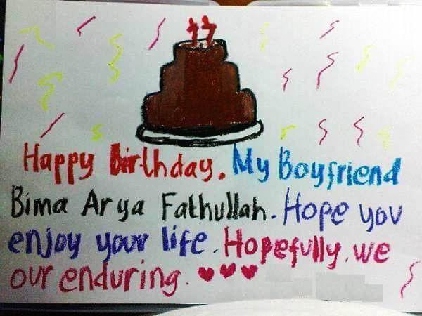 Best Romantic Birthday Letter for Boyfriend [MELT's HEART]