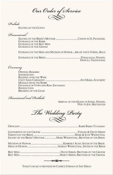 Best 25+ Wedding programs wording ideas on Pinterest | Wedding ...