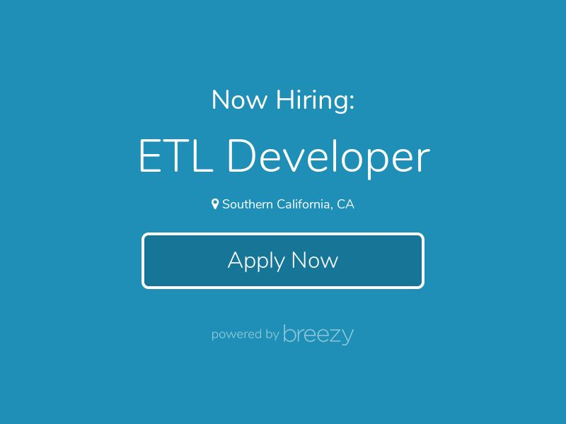 ETL Developer at Precocity LLC