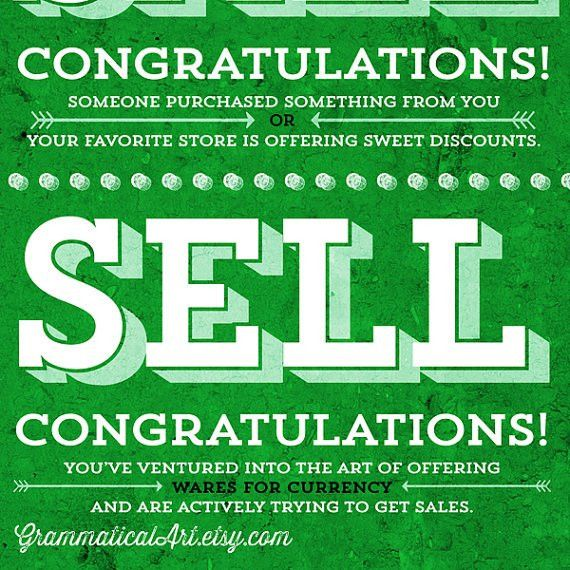 Sale vs. Sell Grammar Comparison Usage English Rules Seller