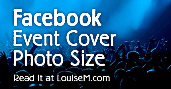 What's the Correct Facebook Event Image Size? 2017 Template